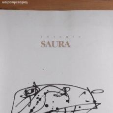 Arte: ANTONIO SAURA ESPAIS 1989. Lote 172837782