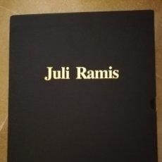 Arte: JULI RAMIS. LLONJA + JULI RAMIS. DIBUIX I PETIT FORMAT + JULI RAMIS. OBRA GRÀFICA. Lote 172892543