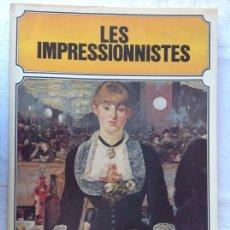 Arte: LES IMPRESSIONISTES, PAR KEITH ROBERTS. ED. BAUDOUIN (1979). GRAN FORMATO. 41,5 X 29 CM.. Lote 172968598