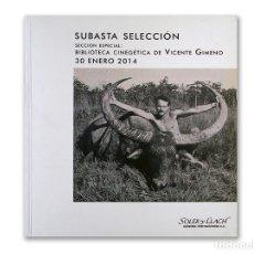Arte: CATÁLOGO CASA DE SUBASTAS SOLER I LLACH - 30 ENERO 2014. Lote 172977598