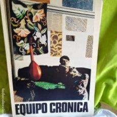 Arte: EQUIPO CRONICA CATALOGO EXPOSICION GALERIA MAEGHT 1981. Lote 173063779