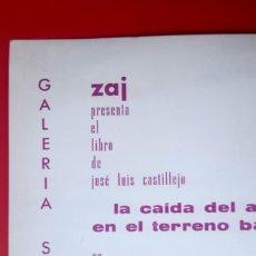 Arte: ZAJ - 1967 - GALERIA SEQUIER - MADRID - INVITACIÓN. Lote 173113035