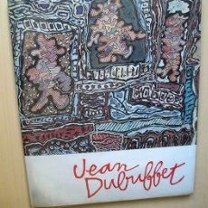Arte: JEAN DUBUFFET. FUNDACIÓN JUAN MARCH, 1976. Lote 173423962