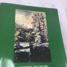 Arte: AGUSTIN RIANCHO 1841-1929 EXPOSICION ANTOLOGICA - MUSEO MUNICIPAL DE BELLAS ARTES DE SANTANDER. Lote 174296397