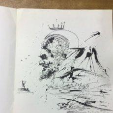 Arte: PRESENTACIÓN EN BARCELONA AGUAFUERTES DE SALVADOR DALÍ - GALERÍA SARRIÓ - 1976. Lote 174466995