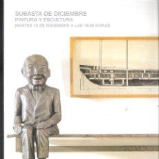 Arte: SUBASTAS SEGRE. PINTURA Y ESCULTURA. DICIEMBRE 2018. SUBASTA Nº 126.. Lote 175703422