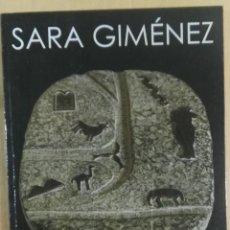 Arte: SARA GIMÉNEZ, JUNTA DE CASTILLA Y LEÓN, BURGOS, 2000. Lote 176378829
