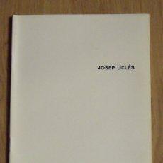 Arte: JOSEP UCLÉS. LLADRES, SERENOS I TRAVESTIS. BARCELONA. RENÉ METRAS. 1981. ILUSTRADO. 23X16 CM.. Lote 176727170