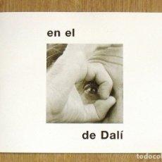 Arte: EN EL OJO DE DALÍ. RENÉ METRAS. 2004. 20 PÁGINAS. BUEN ESTADO. ILUSTRADO. 16X21 CM. BARCELONA.. Lote 176727617
