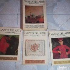 Arte: GACETA DEL ARTE. AÑO I Y II.GRAN FORMATO. 22 EJEMPLARES. Lote 176850750