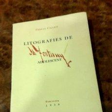 Arte: FORTUNY - LITOGRAFIES DE FORTUNY ADOLESCENT - 1938 . Lote 176993107