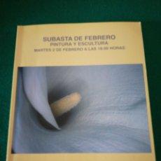 Arte: CATALOGO SUBASTAS DE ARTE. Lote 177050830