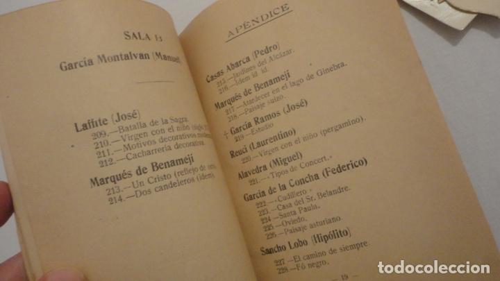 Arte: ANTIGUO CATALOGO EXPOSICION BELLAS ARTES SEVILLA 1921.GONZALO BILBAO.BENLLIURE.JOAN MIRO? GROSSO - Foto 10 - 178391712