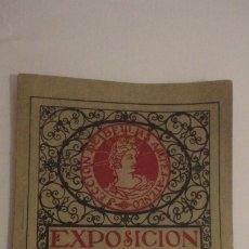 Arte: ANTIGUO CATALOGO EXPOSICION BELLAS ARTES SEVILLA 1921.GONZALO BILBAO.BENLLIURE.JOAN MIRO? GROSSO. Lote 178391712