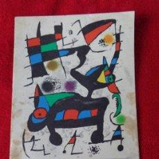 Arte: ODA A JOAN MIRO, CATALOGO DE LA GALERIA PUNTO (VALENCIA ) -- JOAN BROSSA , EDICION DE 1973. Lote 178448391