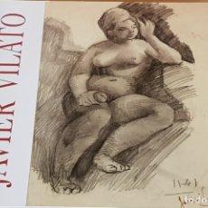 Arte: JAVIER VILATÓ / EXPOSICIÓN GALERÍA FERNANDO PINÓS / DÍPTICO - NUEVO.. Lote 178894527