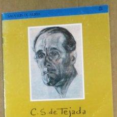 Arte: C.S. DE TEJADA, EXPOSICIÓN HOMENAJE, VITORIA-GASTEIZ, 1990. CARLOS SAENZ DE TEJADA. Lote 178899087