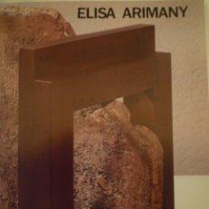 Arte: ELISA ARIMANY. FUNDACIÓ CAIXA BARCELONA. 1990. Lote 179097878