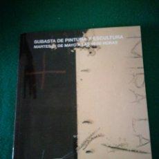 Arte: SEGRE CATALOGO DE SUBASTAS. Lote 179140168
