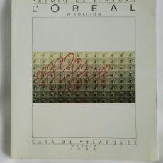 Arte: PREMIO DE PINTURA L'OREAL VI EDICIÓN 1990. Lote 179237301