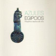 Arte: AZULES EGIPCIOS. VARIOS. PEQUEÑOS TESOROS DEL ARTE. . Lote 179246991