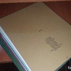 Arte: 9 FOLLETOS DE ARTE DE LA GALERIA AELE DE MADRID, AÑOS 70. Lote 180006993