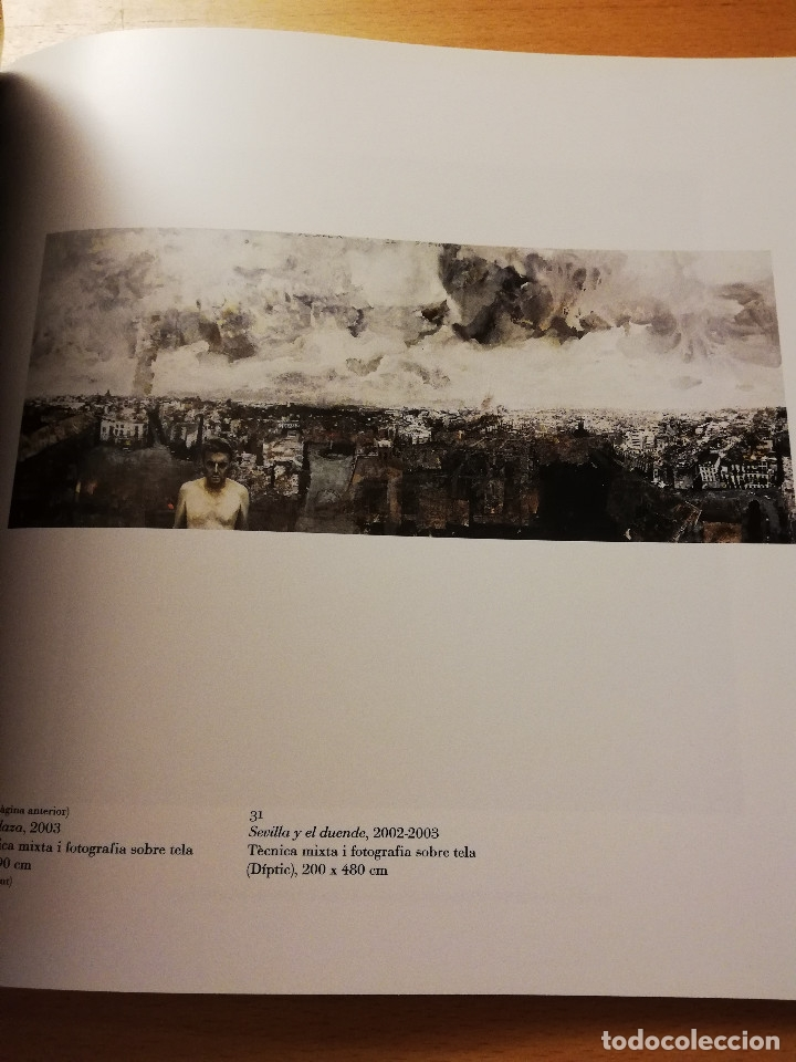 Arte: LUIS MARAVER. OBRES 1985 - 2003 (CASAL SOLLERIC, PALMA DE MALLORCA. ABRIL - MAIG 2003) - Foto 6 - 180179520