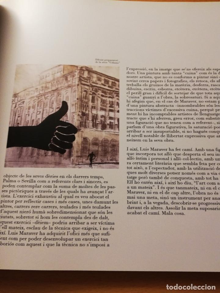 Arte: LUIS MARAVER. OBRES 1985 - 2003 (CASAL SOLLERIC, PALMA DE MALLORCA. ABRIL - MAIG 2003) - Foto 11 - 180179520
