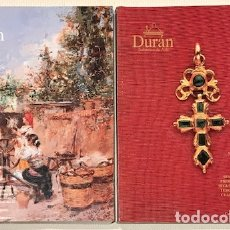Arte: DURÁN. SUBASTA N° 326, [MADRID] 23-27 MARZO 1998. (2 TOMOS). I: 262 PP.; II: 236 PP. 1.991 LOTES.. Lote 180320752