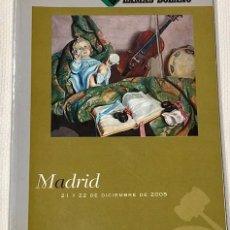 Arte: LAMAS BOLAÑO. SUBASTA MADRID, 21 Y 22 DE DICIEMBRE DE 2005. 4° ( 27 X 21 CM). 314 P., 2 H... Lote 180321083