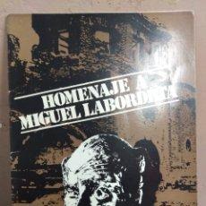Arte: HOMENAJE A MIGUEL LABORDETA . ZARAGOZA 1977, RARO. Lote 180330400