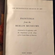 Arte: PAINTINGS FROM THE BERLÍN MUSEUM 1948. Lote 180401891