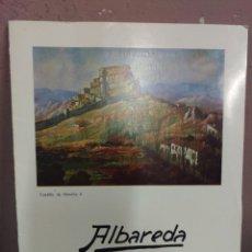 Arte: ALBAREDA - CAJA DE AHORROS DE LA INMACULADA - SALA BARBASAN ZARAGOZA 1975. Lote 180478613