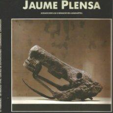 Arte: JAUME PLENSA - IBERCAJA - ZARAGOZA 1990. Lote 180910511