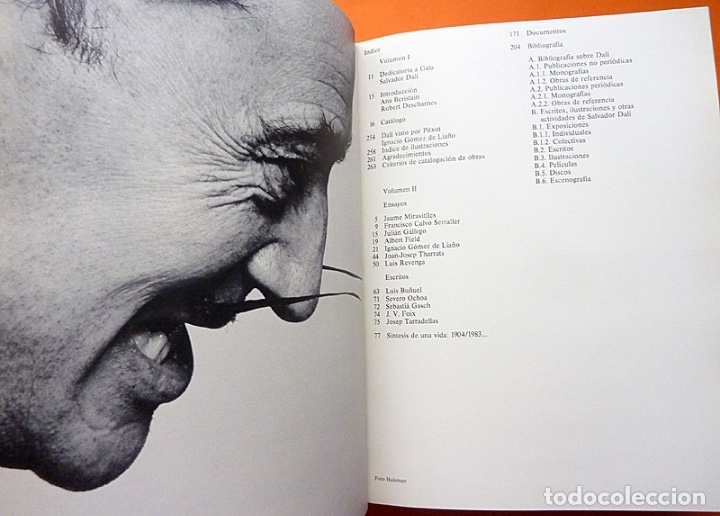 Arte: 400 OBRAS DE SALVADOR DALÍ 1914-1983 - ESTUCHE CON LIBRO DOBLE - VV. AA. - 1983 - COMO NUEVO - Foto 4 - 180968367