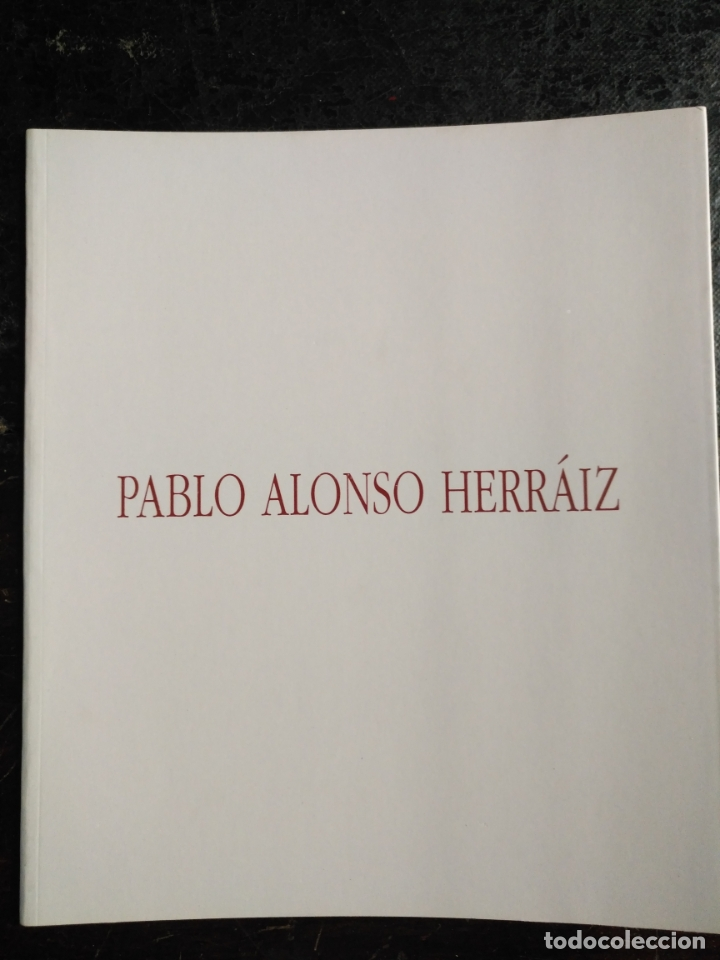 Arte: CATALOGO ARTE pablo alonso herraiz catalogo - la fundacion - museo cruz herrera . galeria municipal - Foto 6 - 181556957