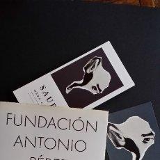 Arte: ANTONIO PEREZ / SAURA. Lote 181767197