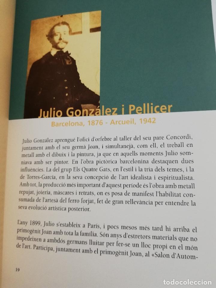Arte: JOAN I JULIO GONZÁLEZ. MODERNISME I MODERNITAT 1898 - 1930 (FUNDACIÓ CAIXA MANRESA) - Foto 6 - 182110145