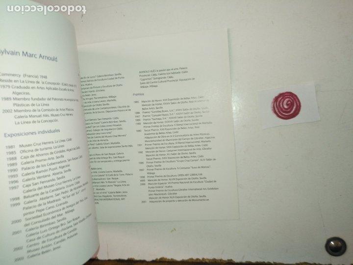 Arte: catalogo de arte - sylvain marc - a con donde por y para manolo - ayuntamiento de la linea cadiz - Foto 3 - 182363856