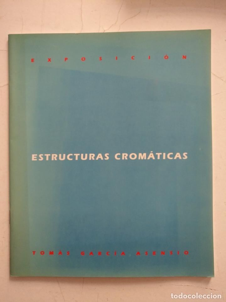 CATALOGO DE ARTE - EXPOSICION, ESTRUCTURAS CROMATICAS - TOMAS GARCIA ASENSIO (Arte - Catálogos)