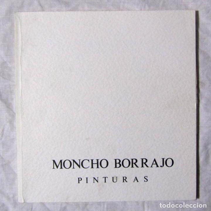 MONCHO BORRAJO PINTURAS 1993 GALERÍA DE ARTE HELLER (Arte - Catálogos)