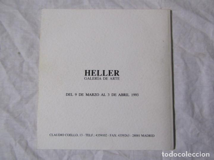 Arte: Moncho Borrajo Pinturas 1993 Galería de Arte Heller - Foto 2 - 182644092