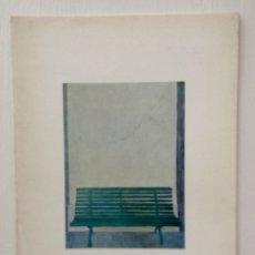 Arte: JOSÉ LUIS VERDES CATALOGO EXPOSICIÓN ATENEO DE MADRID 1968. Lote 182692621