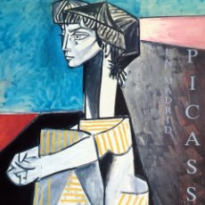 Arte: PICASSO. CATALOGO EXPOSION MADRID 1986.. Lote 182711341