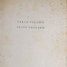 Arte: PICASSO. CATALOGO EXPOSICION SUITE VOLLARD. 1956.. Lote 182712601