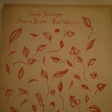 Arte: ARRANZ-BRAVO. BARTOLOZZI. GRANOLLERS, FULLA BAIXA. SALA GASPAR. 1973. FRANCESC PARCERISAS.. Lote 182945882