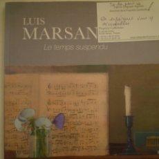 Arte: LUIS MARSANS. LE TEMPS SUSPENDU.ORANGERIE DE LA PROPIÉTÉ CAILLEBOTTE. 2019. Lote 182947537