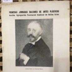 Arte: EXPOSICION HOMENAJE ANTONIO FUSTER 1853 1902, GALERIAS COSTA 1972. Lote 183011177