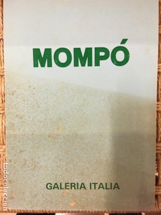MOMPO, GALERIA ITALIA, 1975 (Arte - Catálogos)