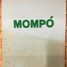 Arte: MOMPO, GALERIA ITALIA, 1975. Lote 183011530